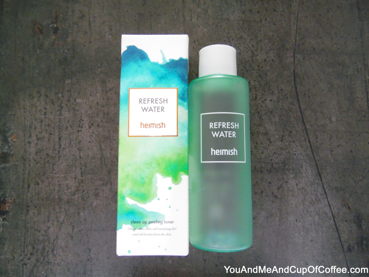 Heimish Refresh Water Clean Up Peeling Toner Review On Combination & Sensitive Skin