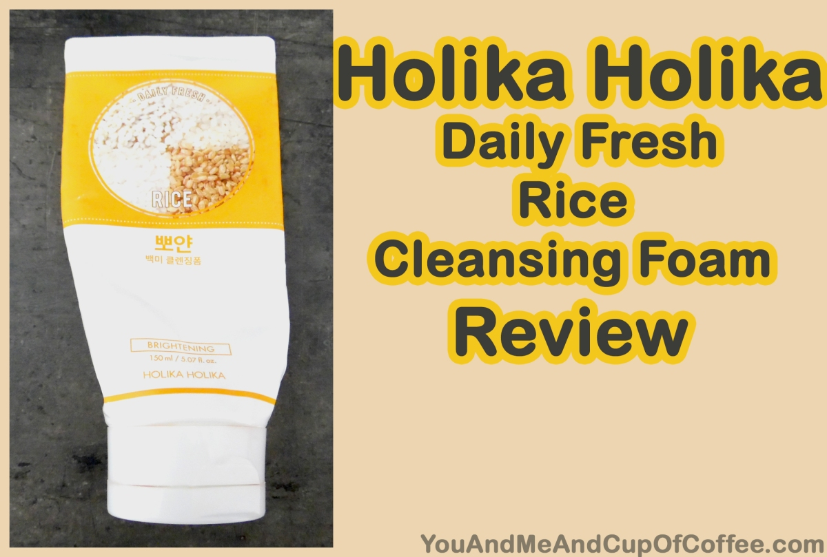 Holika Holika Daily Fresh Rice Cleansing Foam Review. Empties