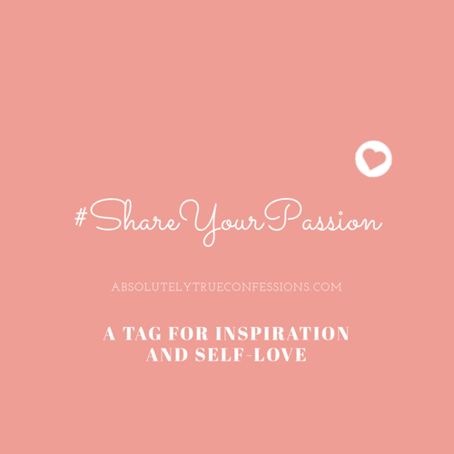 Share Your Passion Tag