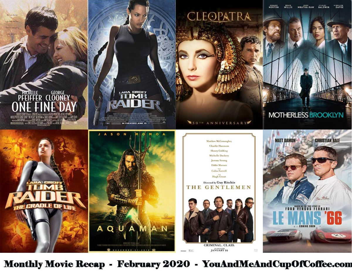 Monthly Movie Recap: February 2020 🎥