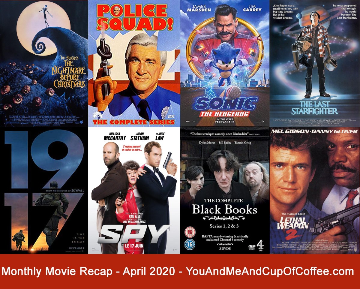 Monthly Movie Recap: April 2020 🎥