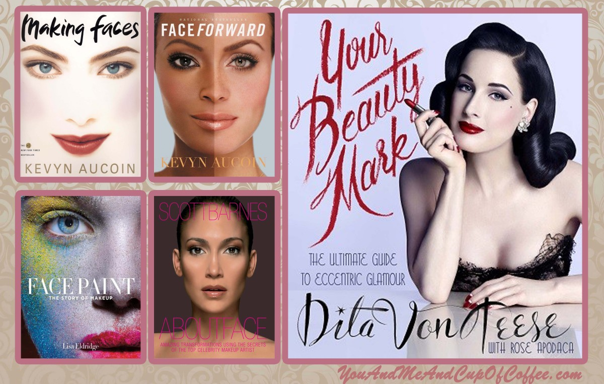 5 Beauty Books in 5 Weeks: Dita Von Teese, Kevyn Aucoin, Lisa Eldridge, ScottBarnes
