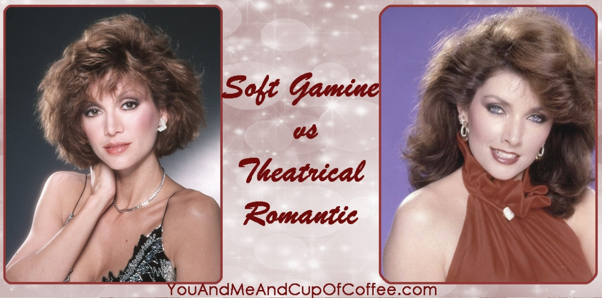 Soft Gamine vs Theatrical Romantic in Kibbe System w/Examples