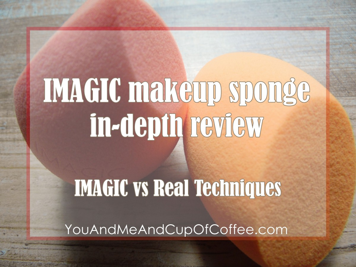 IMAGIC Makeup Sponge Review: IMAGIC vs Real Techniques Miracle Complexion Sponge