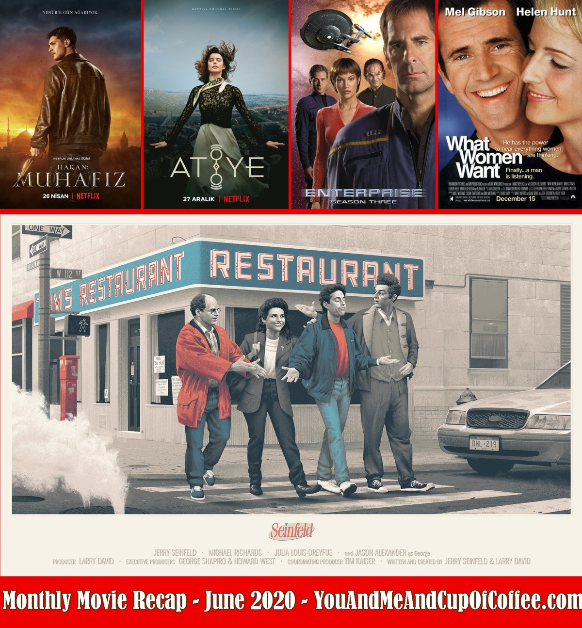 Monthly Movie Recap: June 2020 🎥