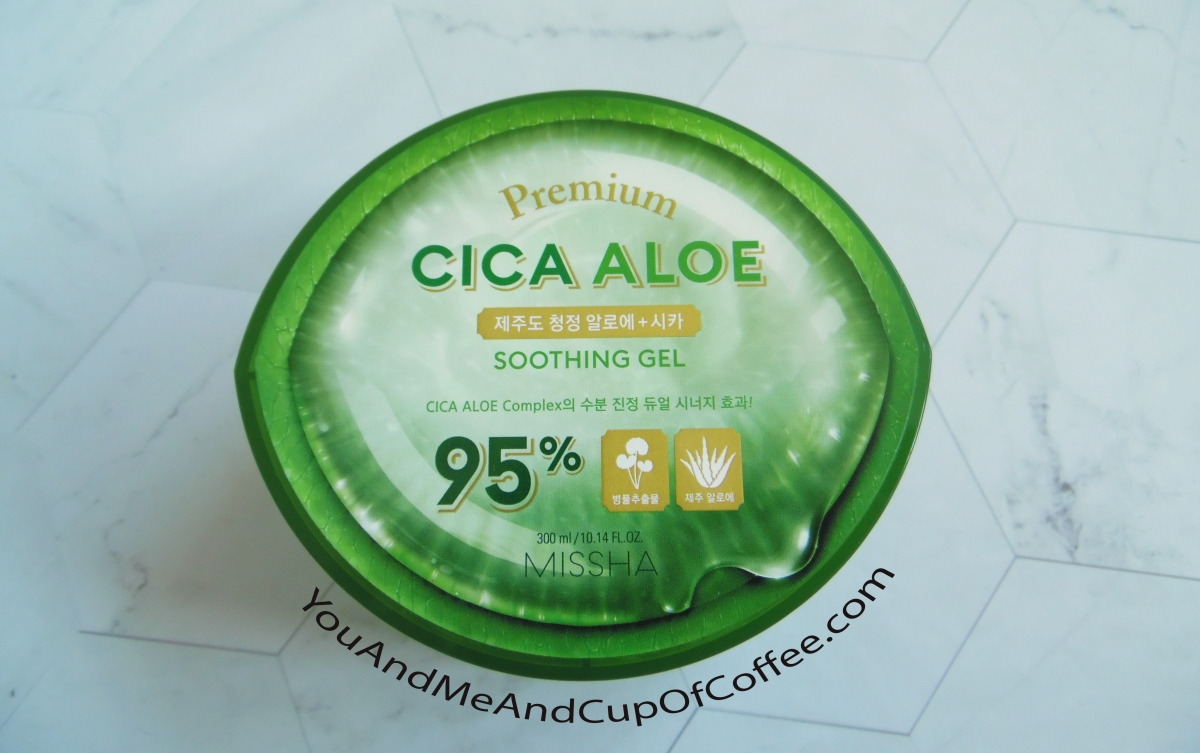 MISSHA Premium Cica Aloe Soothing Gel Review & Ingredients