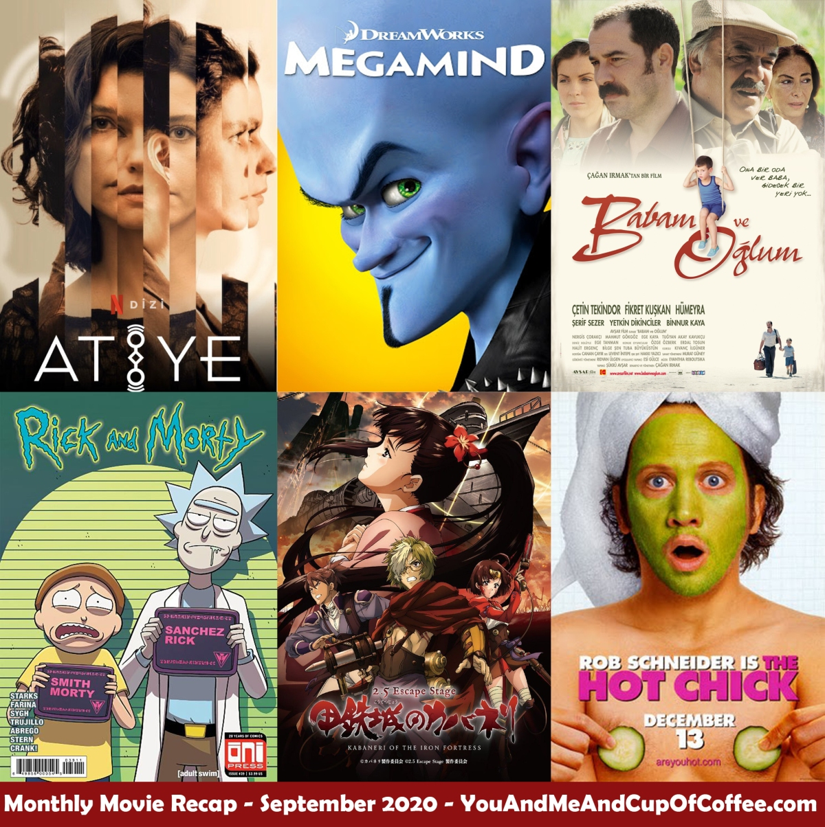 Monthly Movie Recap: September2020