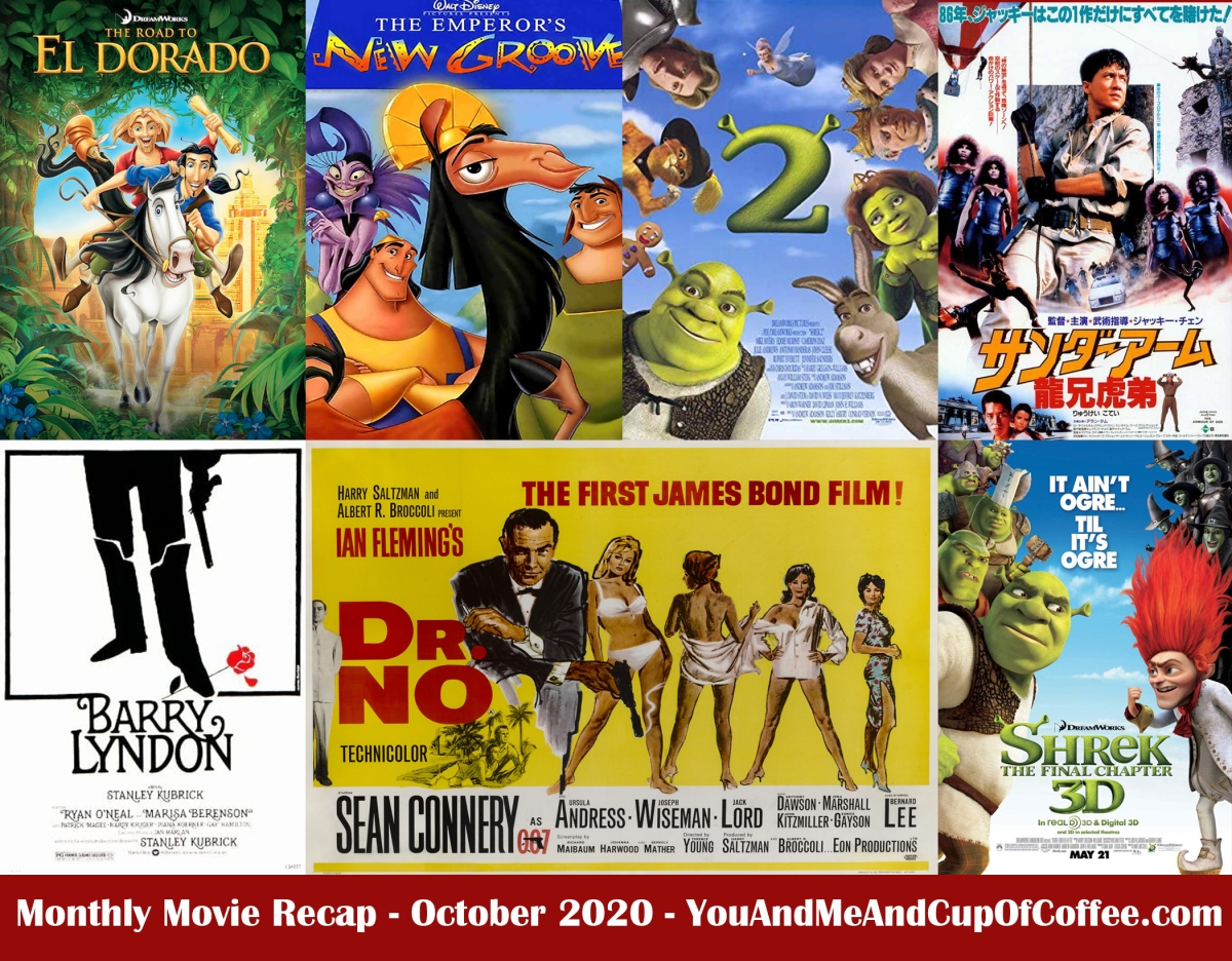 Monthly Movie Recap: October 2020
