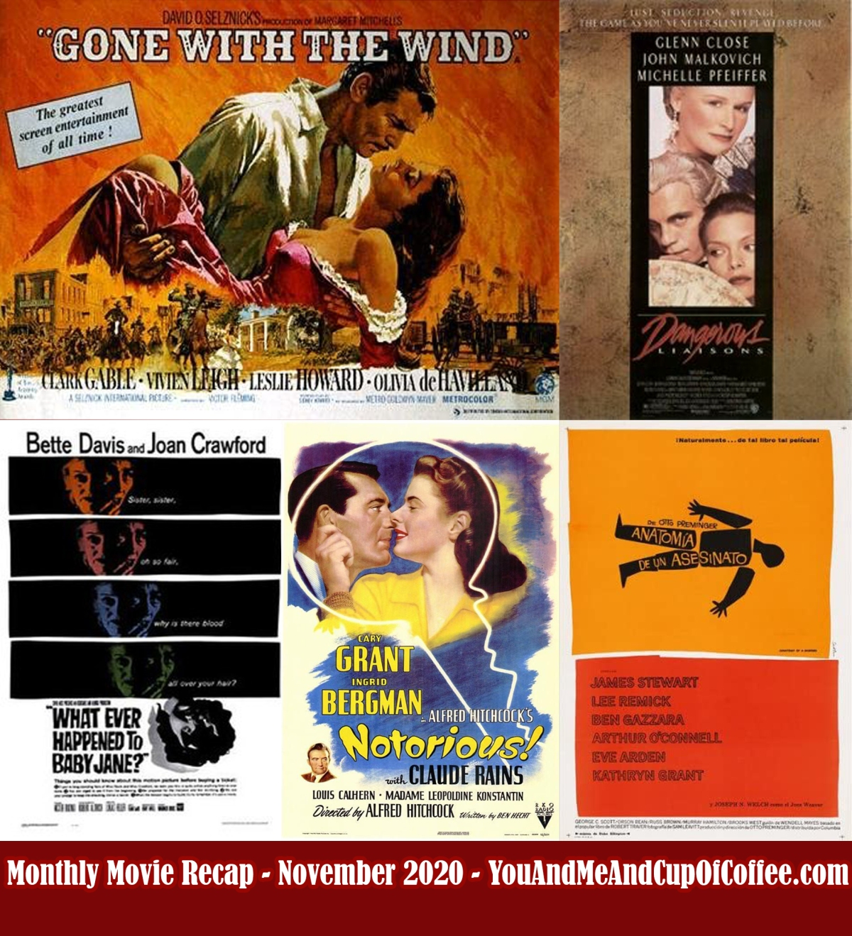 Monthly Movie Recap: November 2020